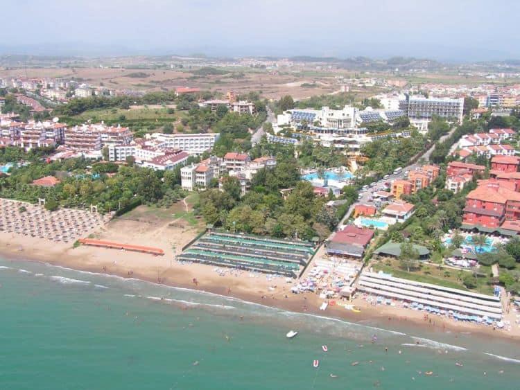 Plaja in Side