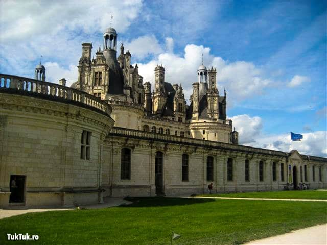 Chambord, un castel grandios