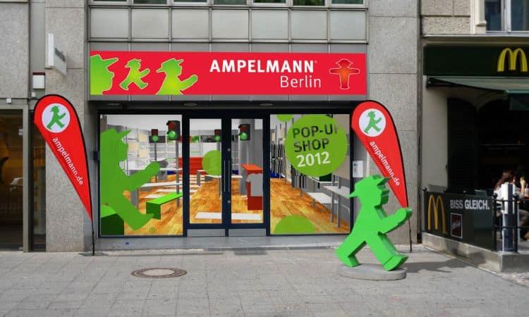 Ampelmann, unul dintre simbolurile Berlinului