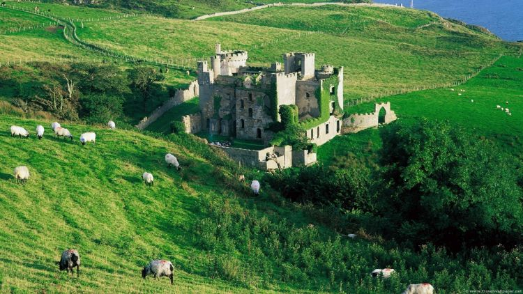 castel clifden irlanda