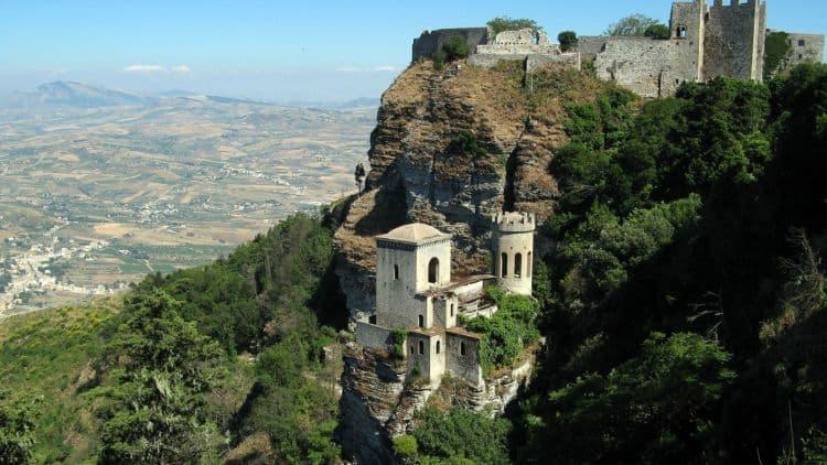 castel erice sicilia