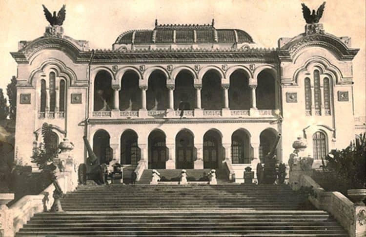 Muzeul Militar (din Palatul Artelor) in Parcul Carol