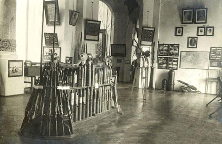 Muzeul Militar. Interior