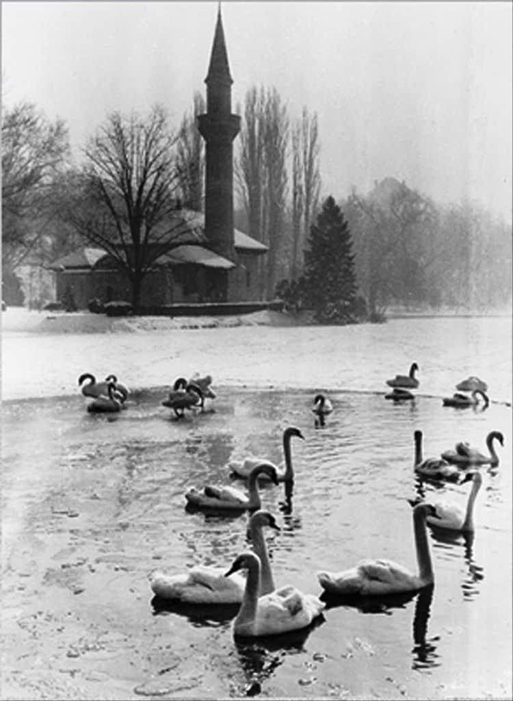 Parcul Carol. Moscheea si lacul