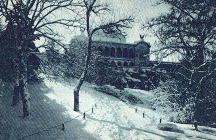 Parcul Carol. Palatul Artelor