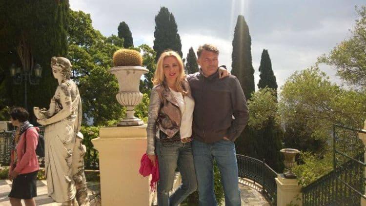 Cu Răzvan, în insula Corfu, acasă la prințesa Sissi