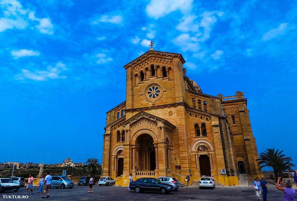 ta'Pinu, o biserică impozantă Malta Lumea lui Eddie: Malta, insula cavalerilor (2) 3 tapinu gozo