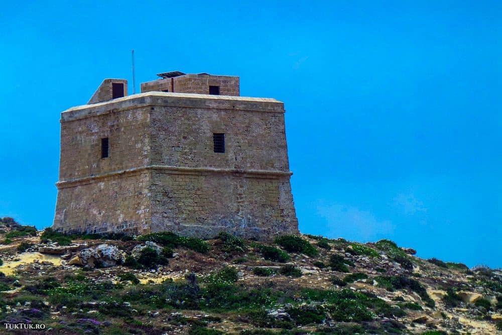 Turnurile de apărare construite în urmă cu sute de ani împânzesc insulele malteze malta Lumea lui Eddie: Malta, insula cavalerilor (1) turn2