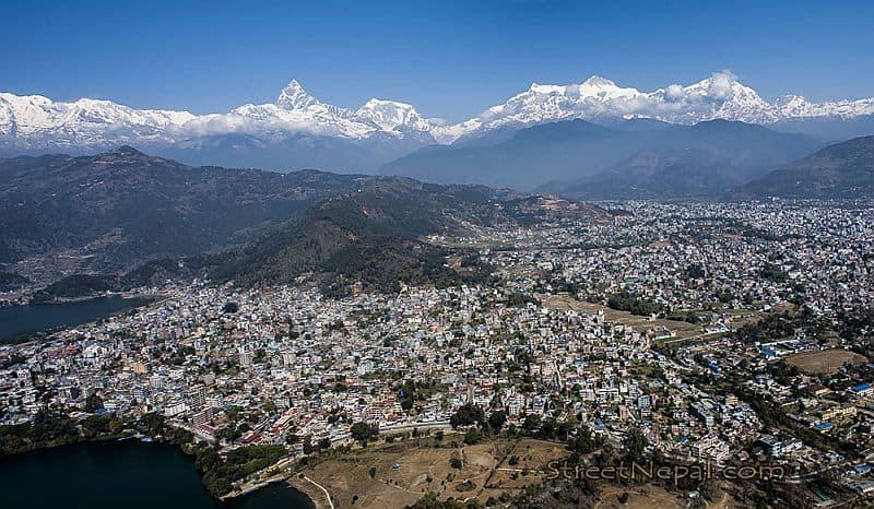 Orașul Pokhara