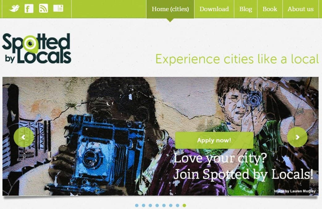 SBL  Spotted by Locals, un start-up cool, focusat pe ghiduri online SBL