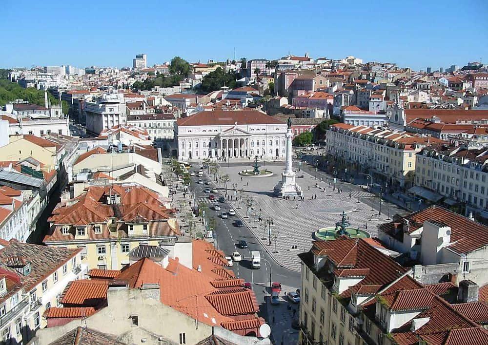 rossio lisabona Top 10 atracții turistice în Lisabona rossio