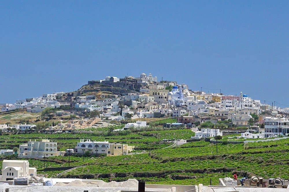 Pyrgos santorini Top 10 locuri de văzut în Santorini Pyrgos