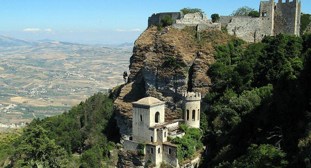 erice sicilia Top 10 locuri de vizitat în Sicilia erice