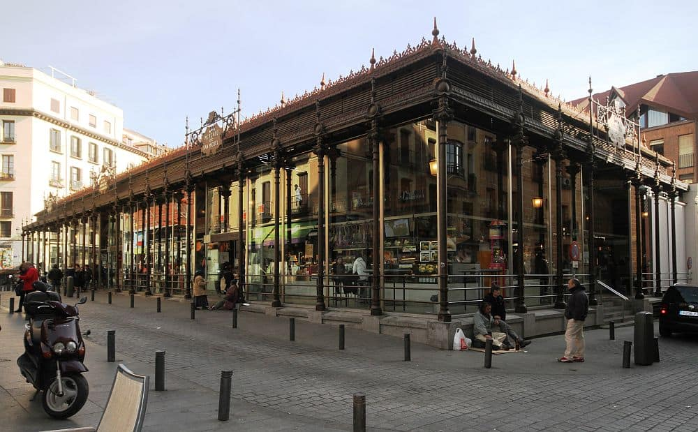 Mercado de San Miguel. Foto: Wikipedia madrid Top 10 atractii turistice in Madrid Mercado de San Miguel