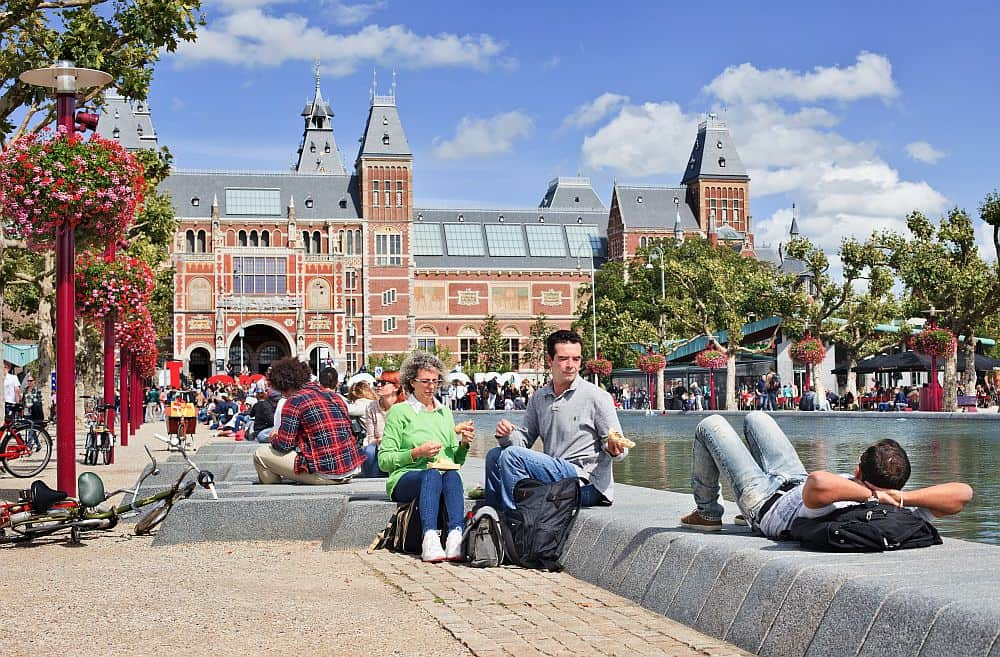 Muzeele, punctul forte al capitalei Amsterdam. TonyV3112/ Shutterstock.com