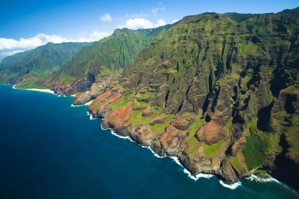 Coasta Na Pali, din Kauai