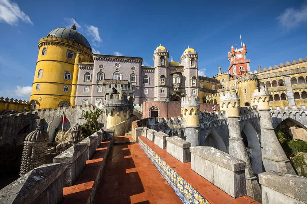 Palatul regal din Sintra. Foto: Shutterstock