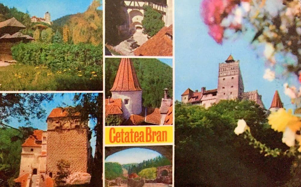 Bran, 1975. Foto: T. Pîrvulescu ilustrate din Romania 13 ilustrate vechi din România Bran 1975 T Pirvulescu