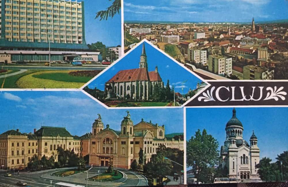 Cluj Napoca, 1973 ilustrate din Romania 13 ilustrate vechi din România Cluj 1973
