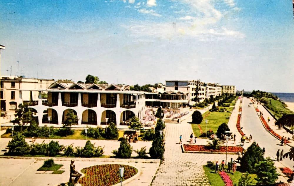 Mangalia Sud, 1975. Foto: Al. Mendrea ilustrate din Romania 13 ilustrate vechi din România Mangalia Sud Al Mendrea 1975