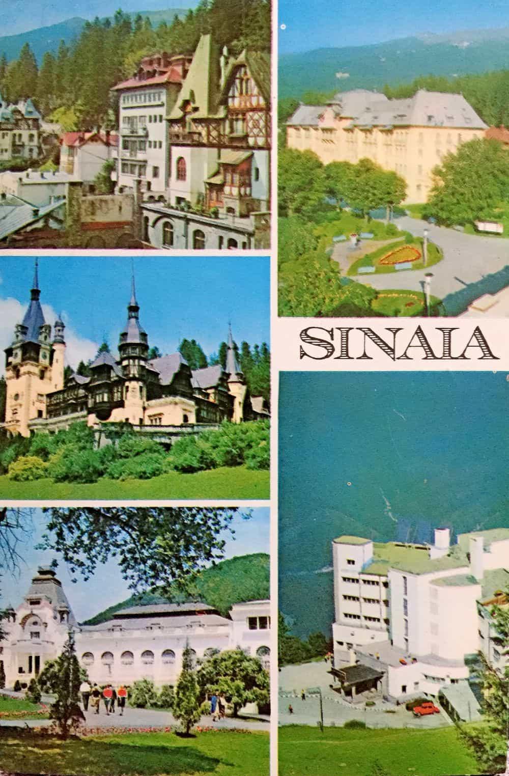 Sinaia 1975 ilustrate din Romania 13 ilustrate vechi din România Sinaia 1975