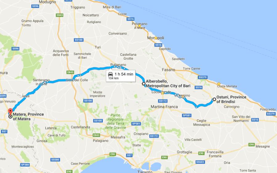 ostuni-matera alberobello Vacanță în Puglia (2): Alberobello și Matera ostuni matera