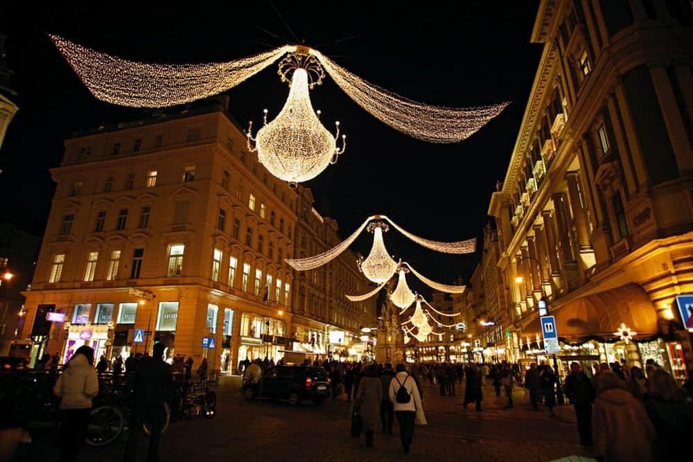 Atmosferă de Crăciun pe Graben, în Viena © Österreich Werbung, Foto: Bartl