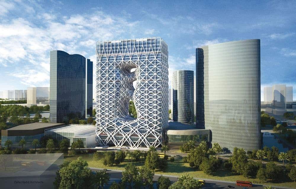 hoteluri 10 hoteluri incredibile care s-au deschis sau se vor deschide curând 2 City of Dreams Hotel Tower