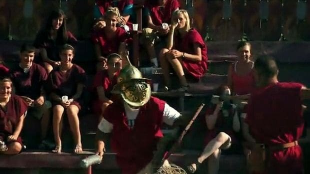 Roman Gladiator School