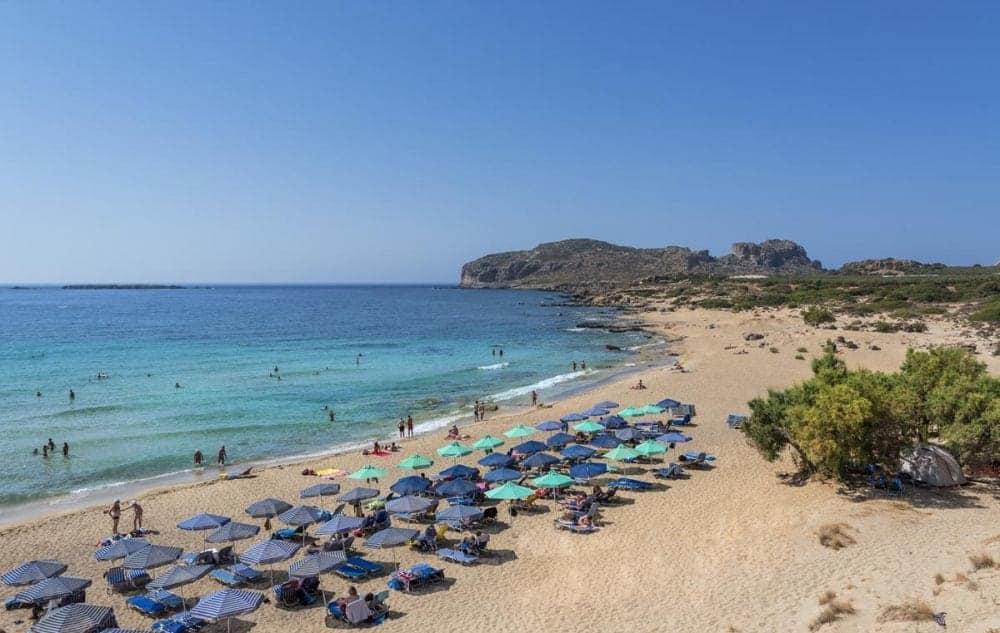 plaje din creta Top 10 cele mai frumoase plaje din Creta Falassarna