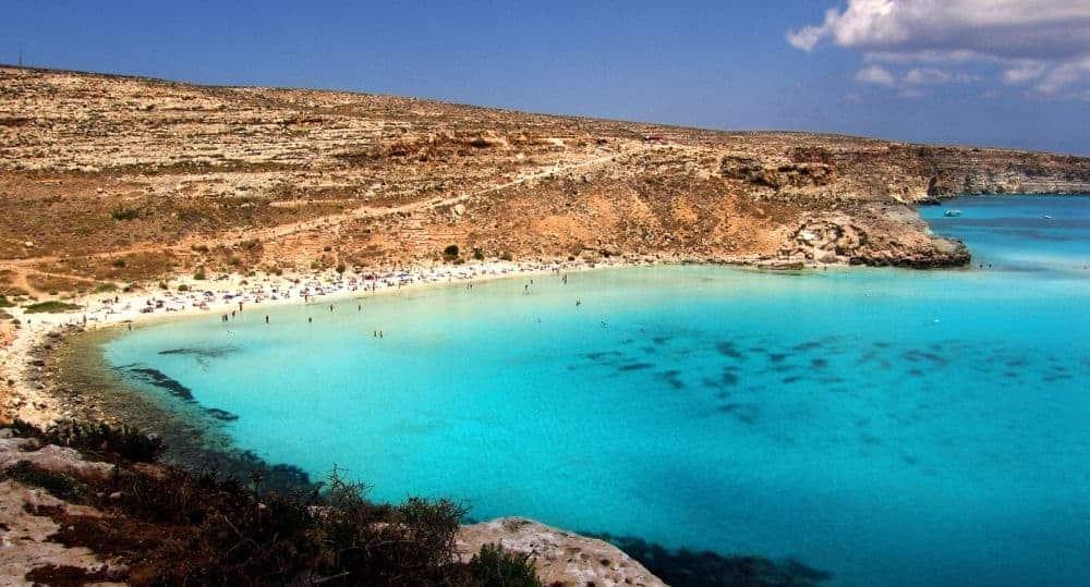 insule din italia Top 10 cele mai frumoase insule din Italia lampedusa plaja iepurelui