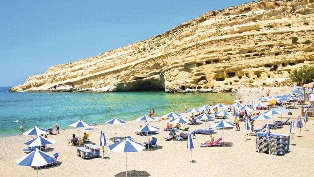 plaje din creta Top 10 cele mai frumoase plaje din Creta matala