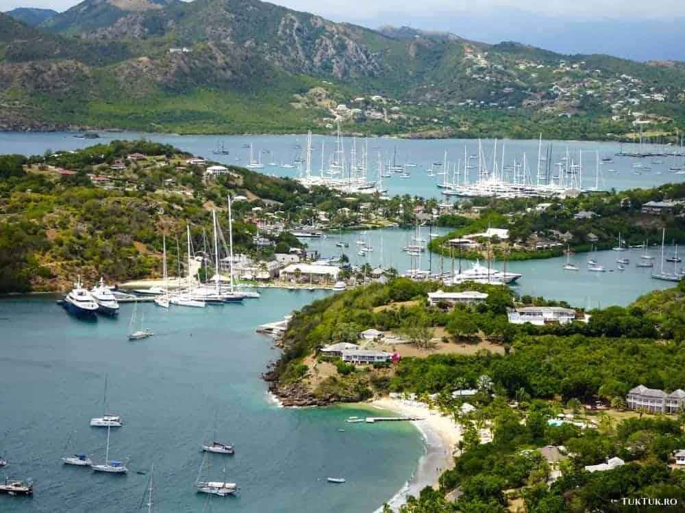 antigua Croazieră în Caraibe: 4 - Antigua și parohiile ei minunate antigua landsc 1