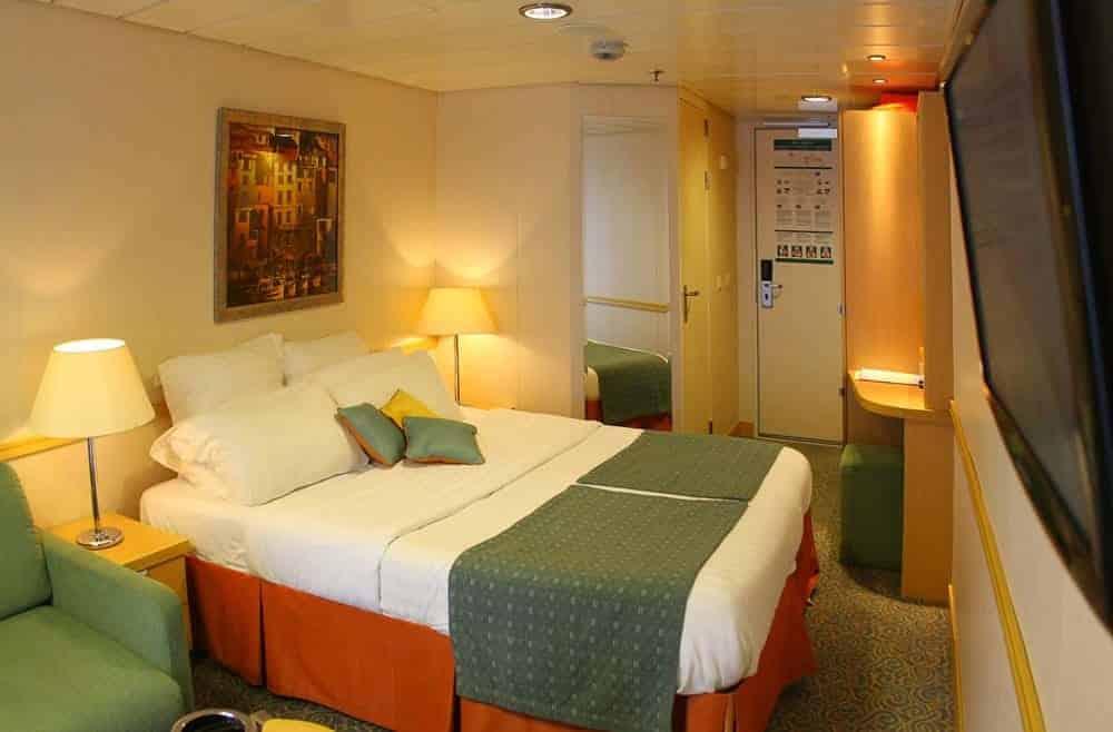 croaziera caraibe Croazieră în Caraibe: 1- Vasul de croazieră cabina