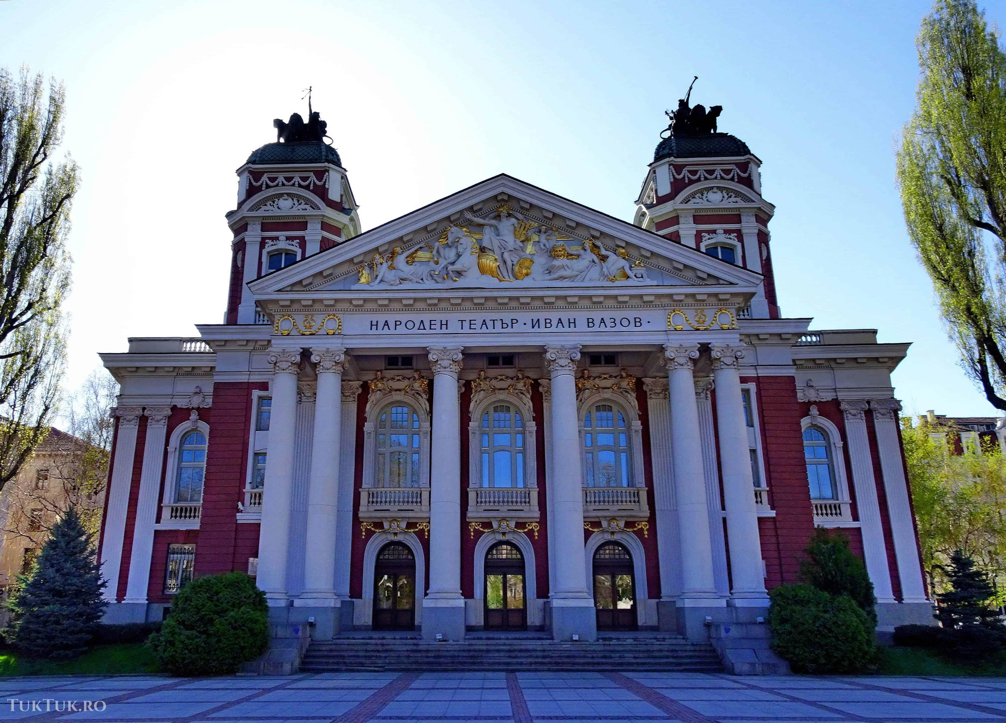 Destinații EDEN în Bulgaria (1): Kyustendil teatru national sofia