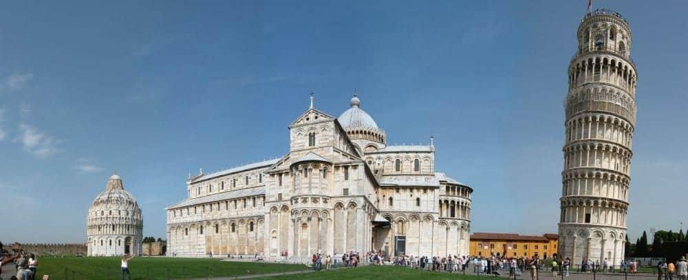 """Pisa Pisa, orașul-""""miracol"""" din Toscana campo dei miracoli"""