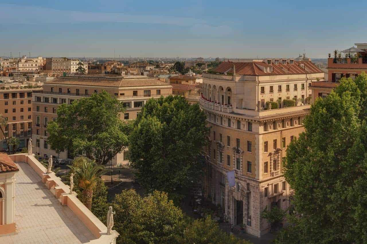 hoteluri de 5 stele roma Cele mai bune 5 hoteluri de 5 stele din Roma gran hotel 1
