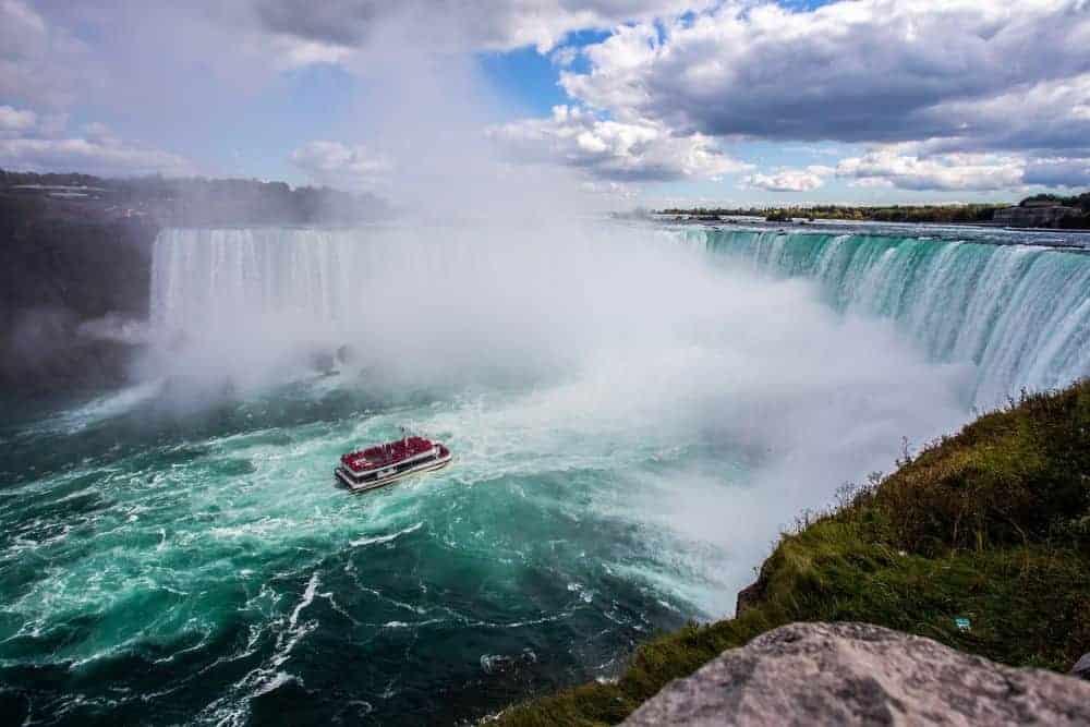 circuit America 5 programe de vis pentru a vizita America în 2018 niagara