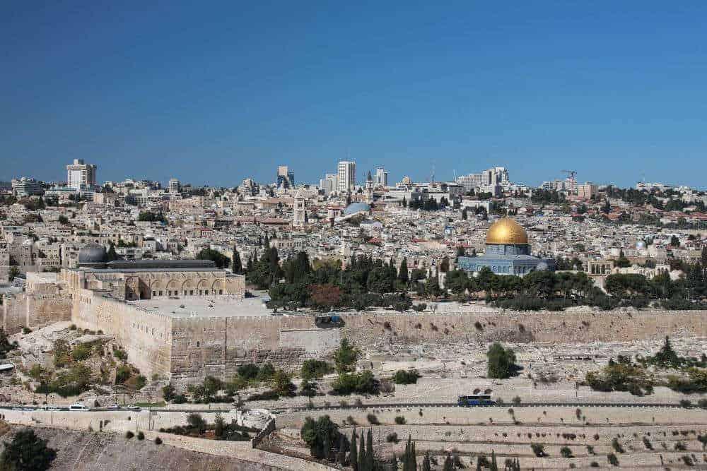 cele mai vechi orașe din lume Cele mai vechi orașe din lume ierusalim