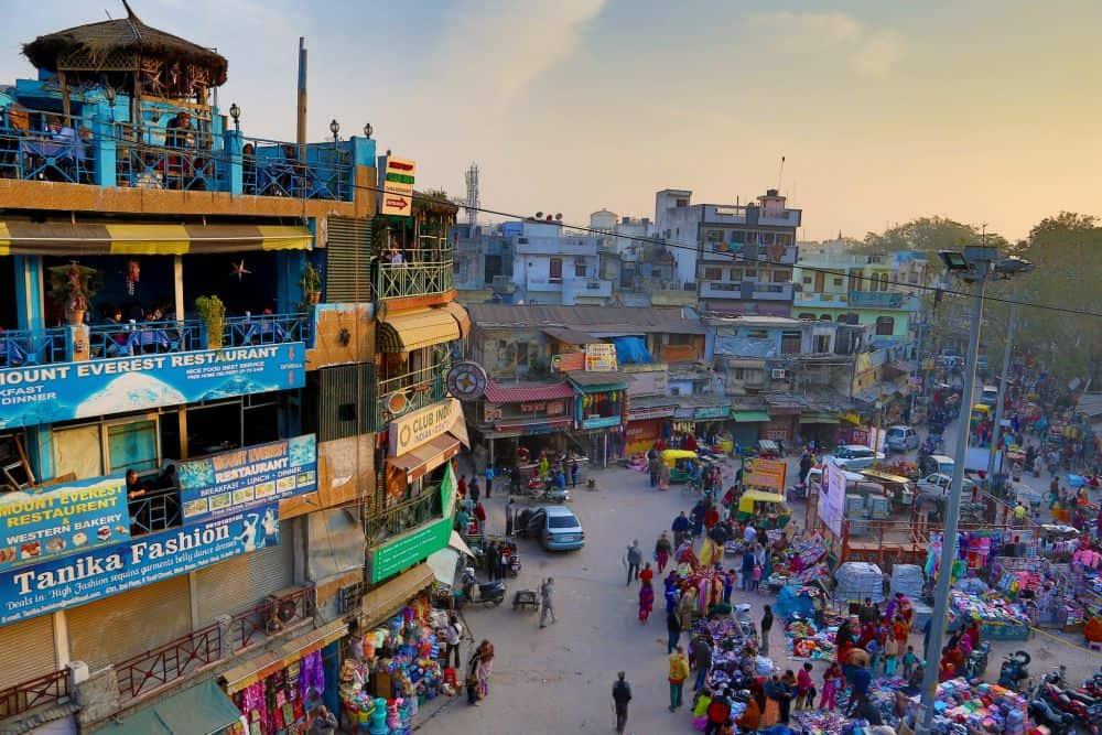 new delhi circuit în india