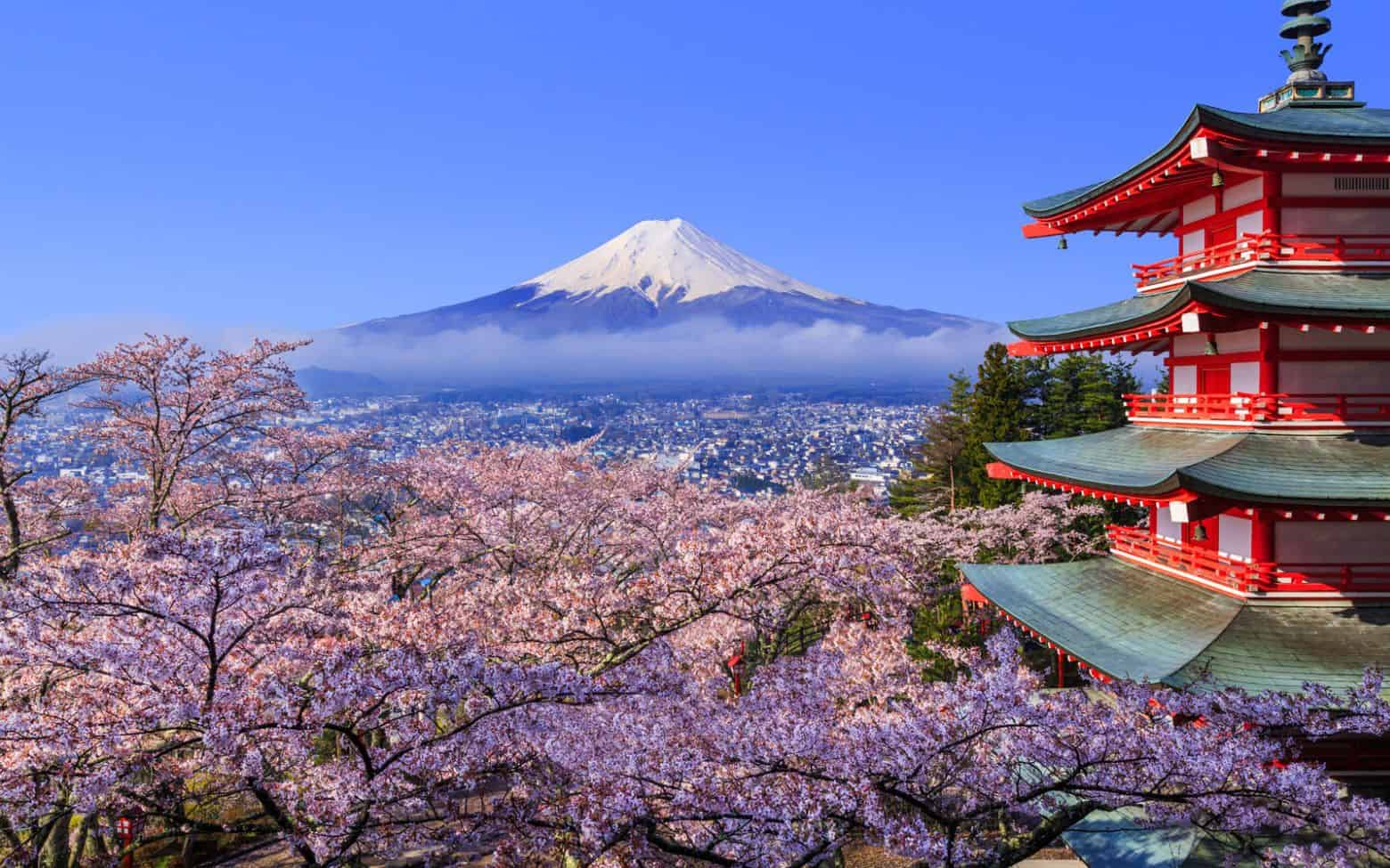 Primăvară în Japonia