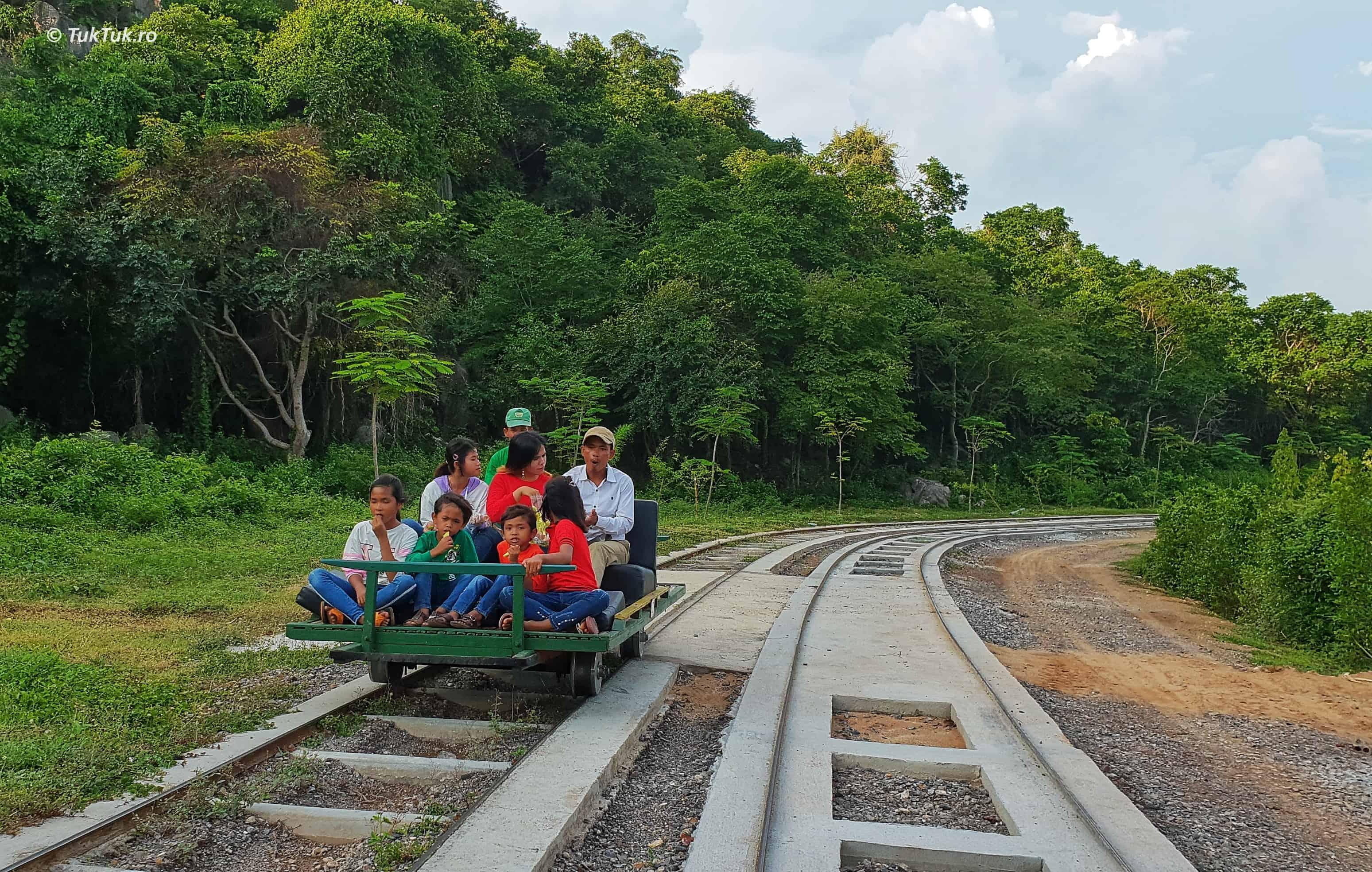 trenul de bambus battambang