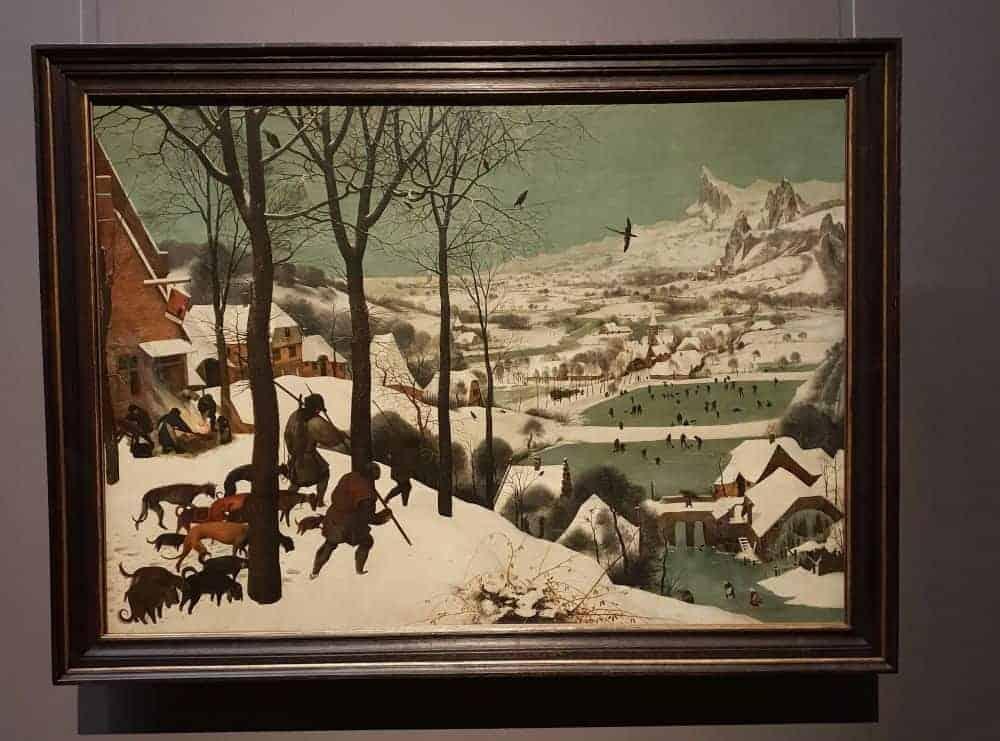 Vânători în zăpadă