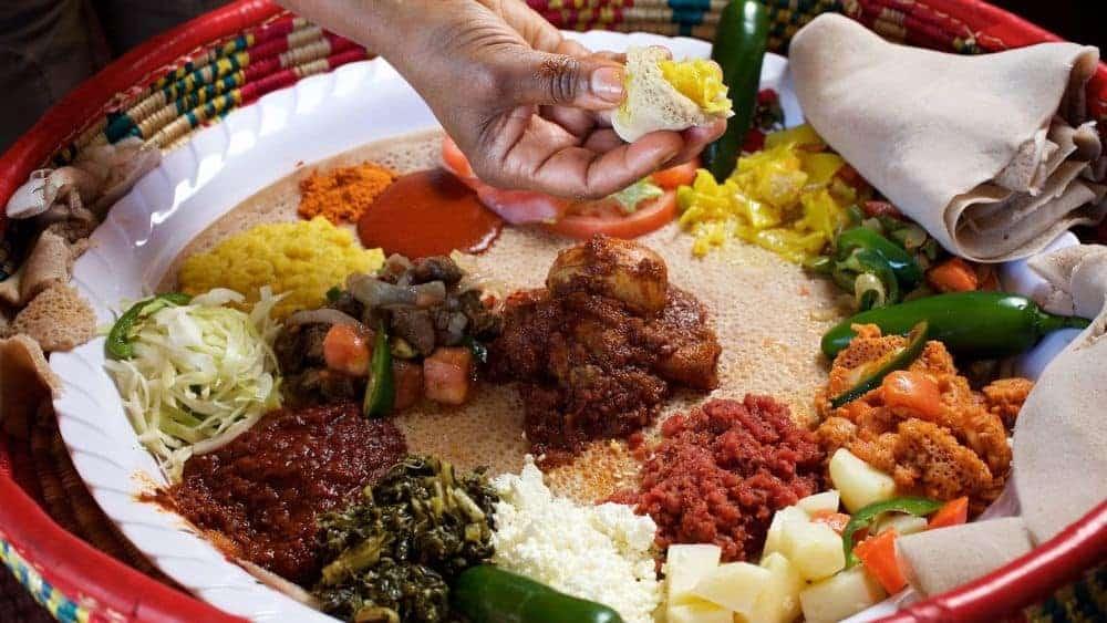 mancare etiopiana