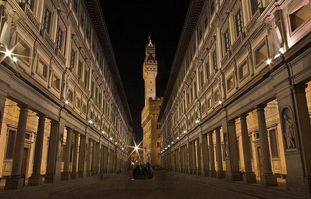 ce sa vezi in Florenta uffizi