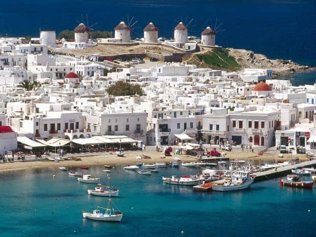 insule si plaje din Grecia mykonos