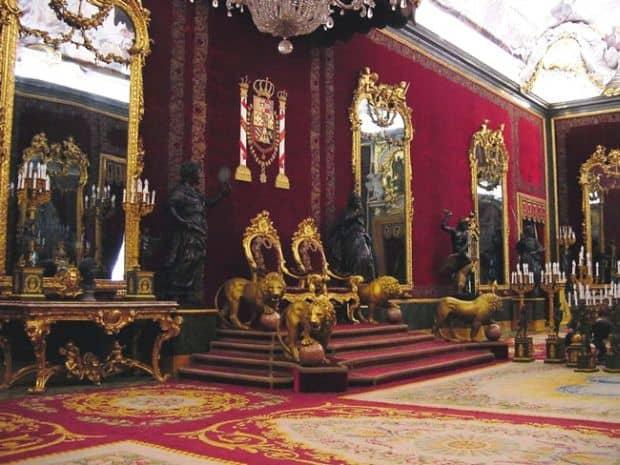 palatul regal madrid
