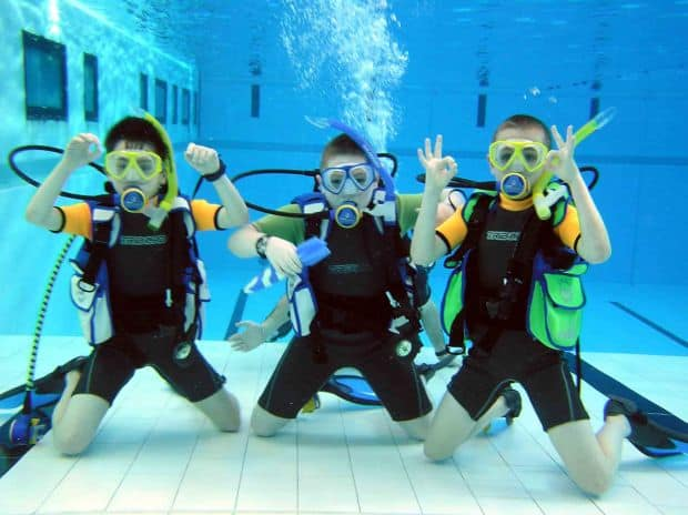 destinatii de scuba diving