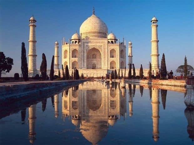 atractii turistice india taj mahal