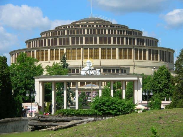 1. Sala Centenarului  wroclaw